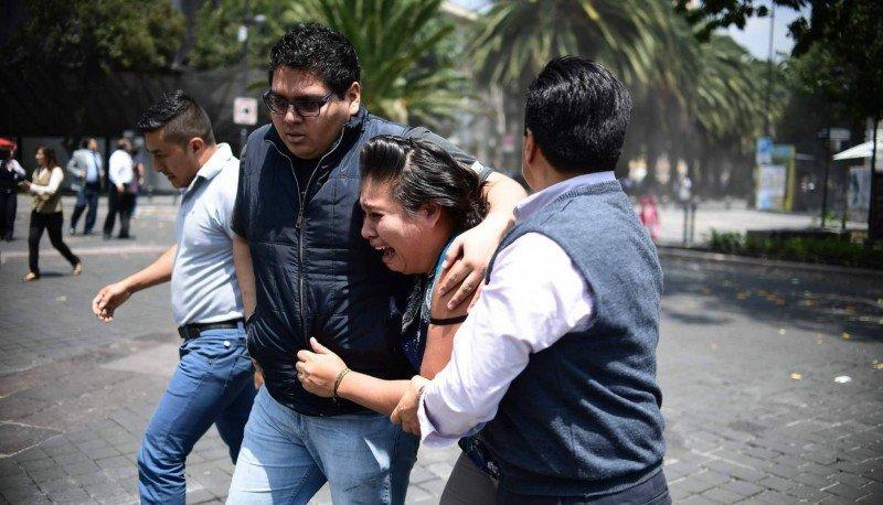 Nuevo sismo de 7.1 sacude a México