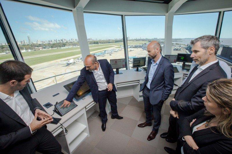 Aeroparque inauguró nueva torre de control