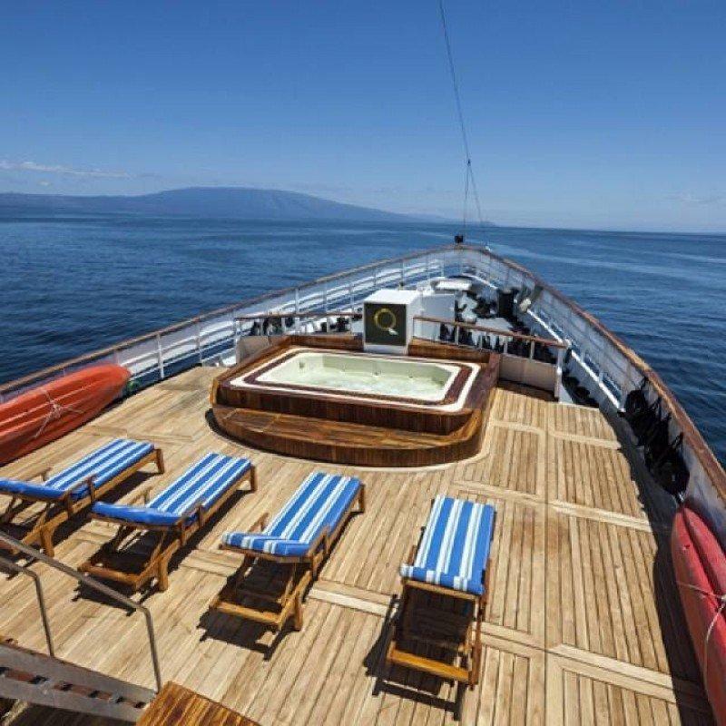 Quasar Expeditions opera cruceros de lujo en Galapagos y busca traer el concepto a la Argentina.
