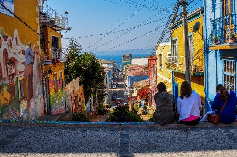Valparaíso, uno de los destinos de verano más destacados de Chile. Foto: Turismo Chile.