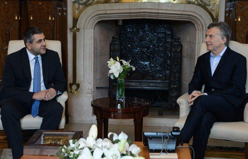 'Esta mañana recibí a Zurab Pololikashvili, secretario general de la Organización Mundial del Turismo', compartió Mauricio Macri ayer en Twitter.