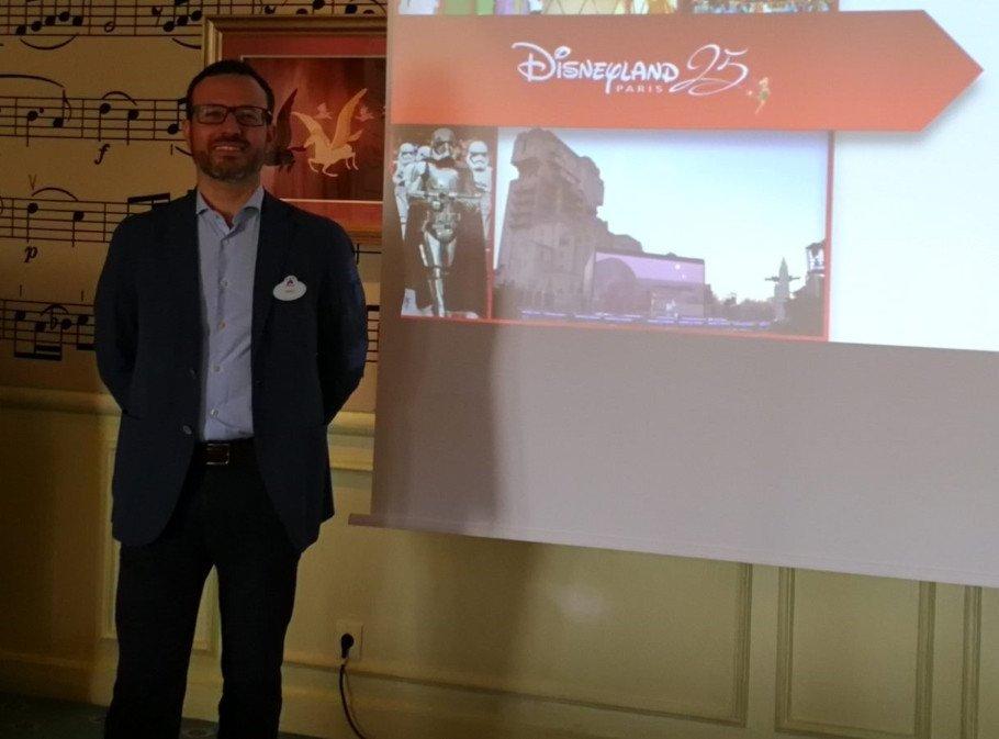 Tiago Santos, jefe de Ventas de Disneyland Paris para España y Portugal.