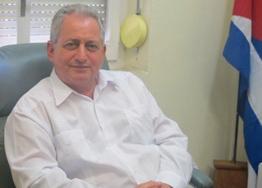Luis Miguel Díaz, viceministro de Turismo de Cuba, ayer en Madrid.