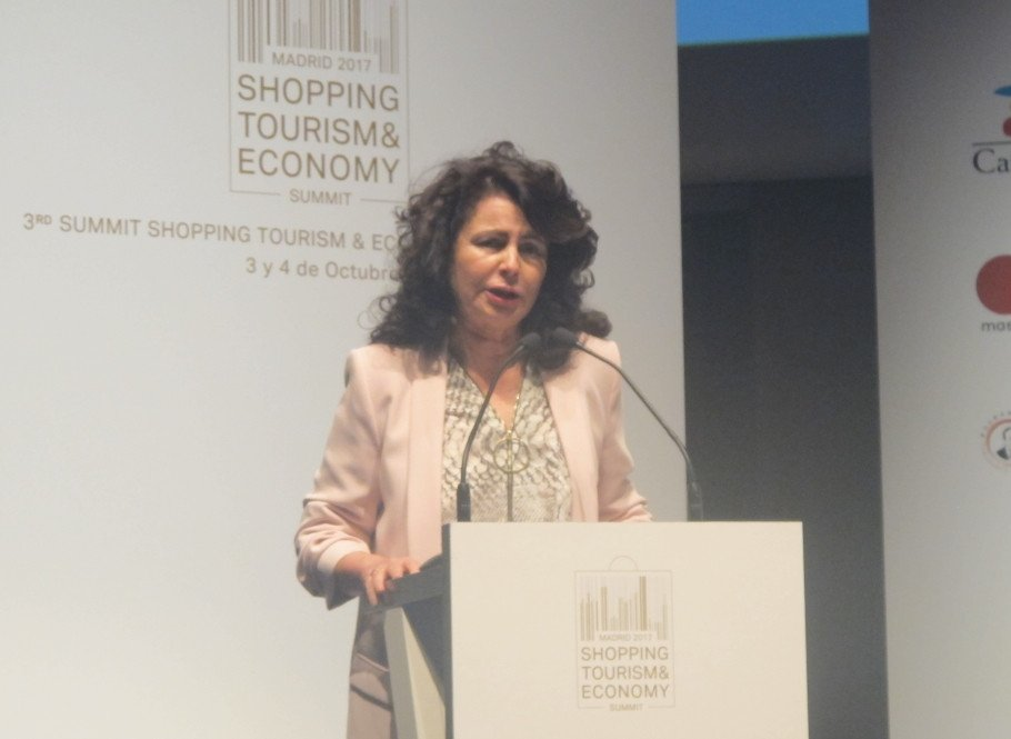 Matilde Asián, secretaria de Estado de Turismo.
