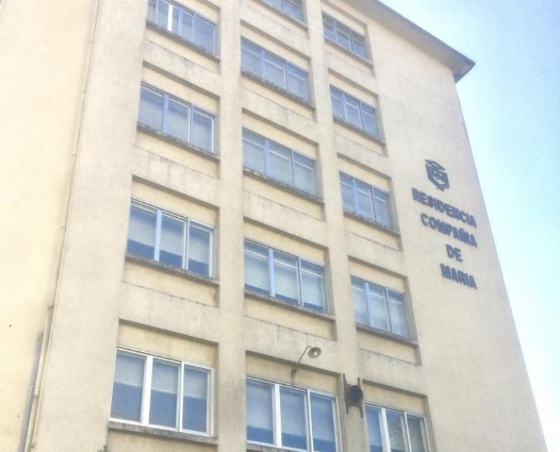 Imagen de la fachada del futuro hotel.