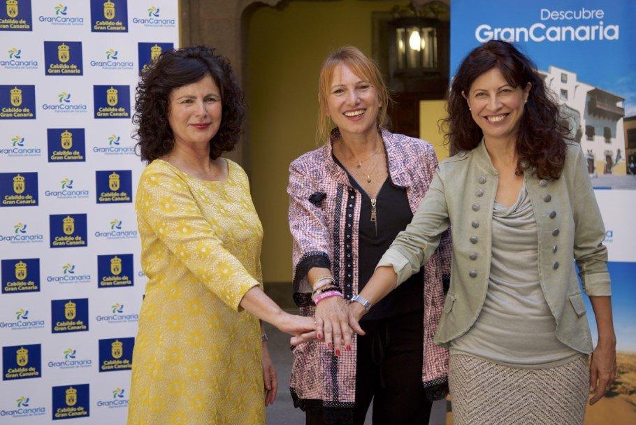En la presentación de 'Saborea Gran Canaria', participaron la secretaria de Estado de Turismo, Matilde Asián; la presidenta del Patronato de Turismo, Inés Jiménez, y la vicepresidenta de 'Saborea España', Ana María Redondo.