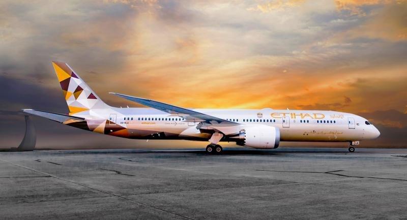 Etihad opera la ruta Madrid-Abu-Dhabi con el B787-900 y aumenta su oferta