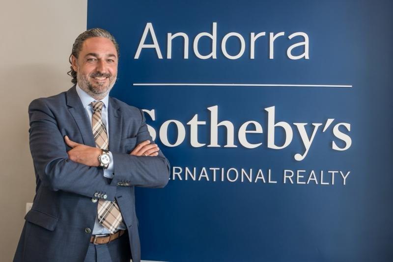 Narcís Socías, CEO de Andorra Sotheby's International Realty.