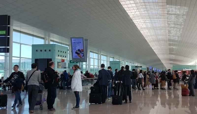 La terminal 1 del aeropuerto de Barcelona