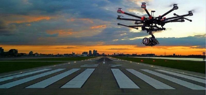 Los aeropuertos españoles usarán drones en sus inspecciones de seguridad