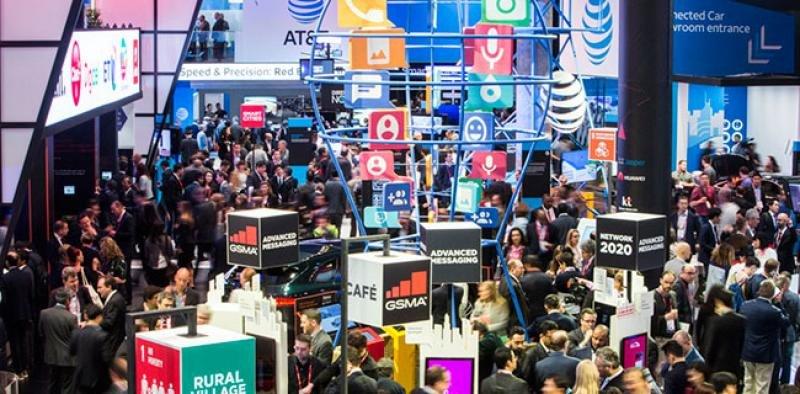 Imagen de archivo del congreso mundial de móviles que se celebra a principios de año en Barcelona.