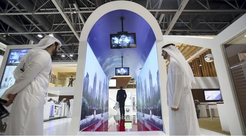 El primer túnel de reconocimiento facial se instalará en el Aeropuerto Internacional de Dubai a finales del verano de 2018 (Foto: Satish Kumar para The National).