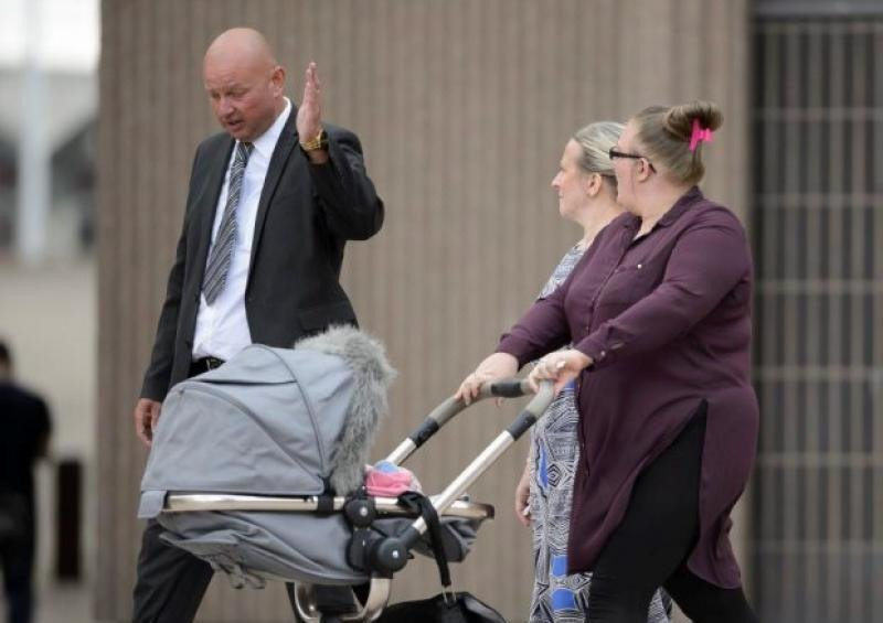 La pareja ha recibido muy mal la sentencia condenatoria, según testigos del juicio. Foto: metro.co.uk.