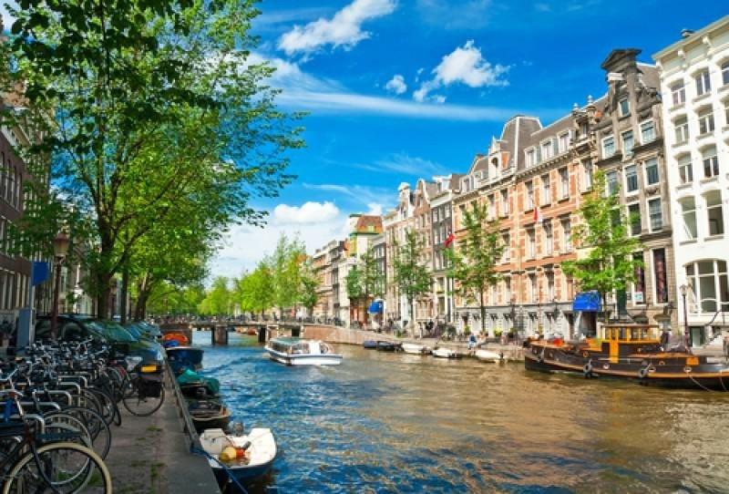 Ámsterdam es una de las ciudades más visitadas de Europa.