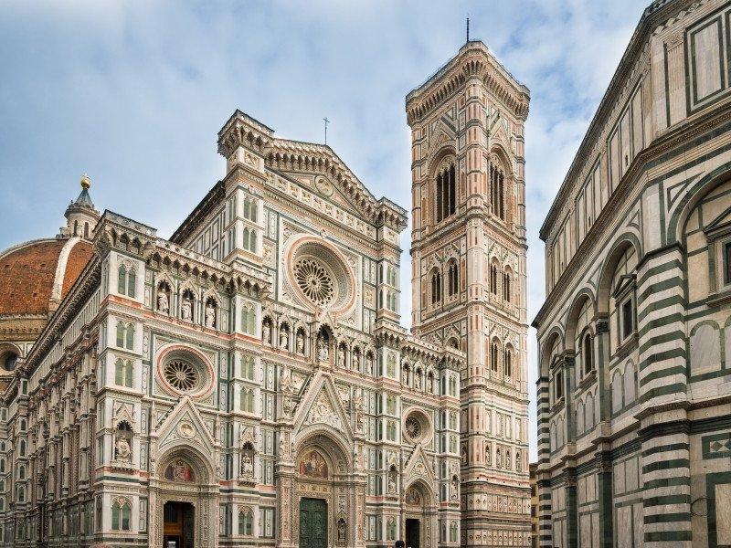La Catedral de Florencia.