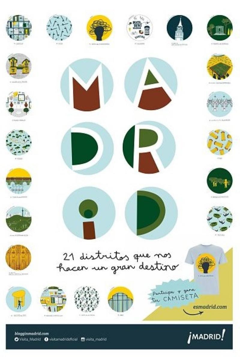 Madrid, 21 distritos que hacen un gran destino