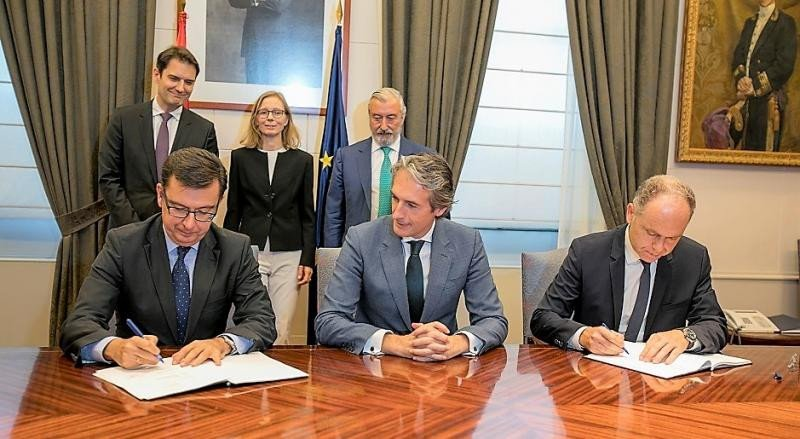 Un préstamo de 600 M € unirá por AVE a las tres capitales vascas