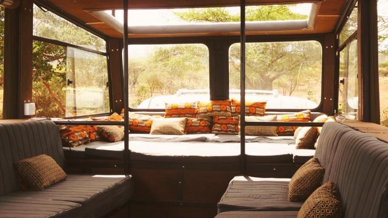 El diseño interior de los camiones se adapta a los conceptos de slow travel y lujo desenfadado.