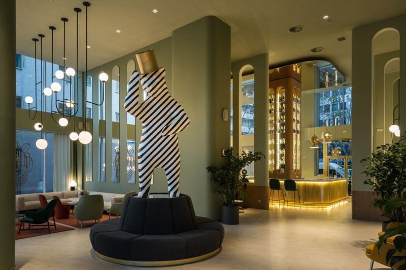 Imagen del Barceló Torre de Madrid, uno de los hoteles que pone en valor su carácter madrileño.