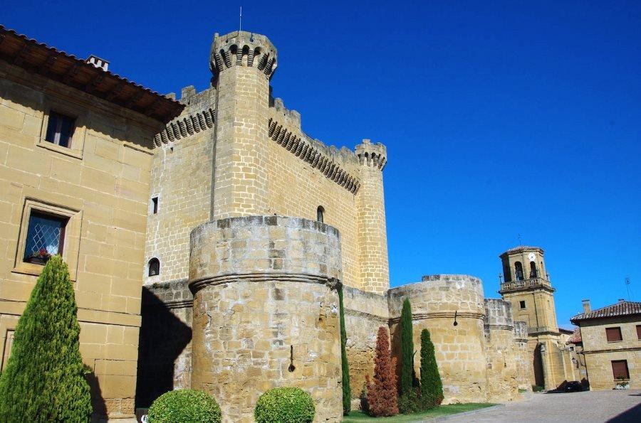 La Asociación de Los Pueblos más bonitos de España está integrada actualmente por 57 municipios, como Sajazarra (La Rioja) en la imagen.
