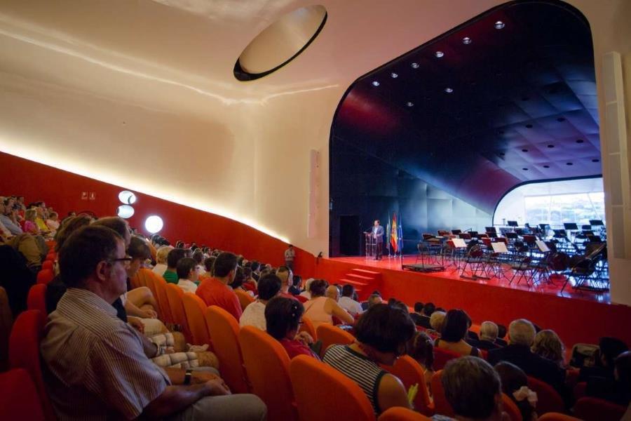 Palacio de Congresos de Plasencia.