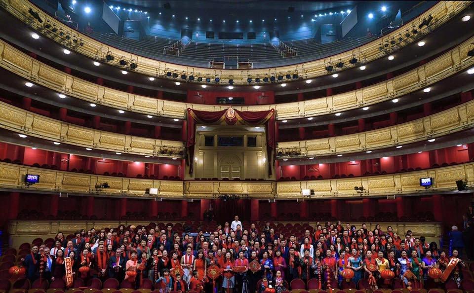 El Foro España-China se celebrará en el Teatro Real de Madrid.