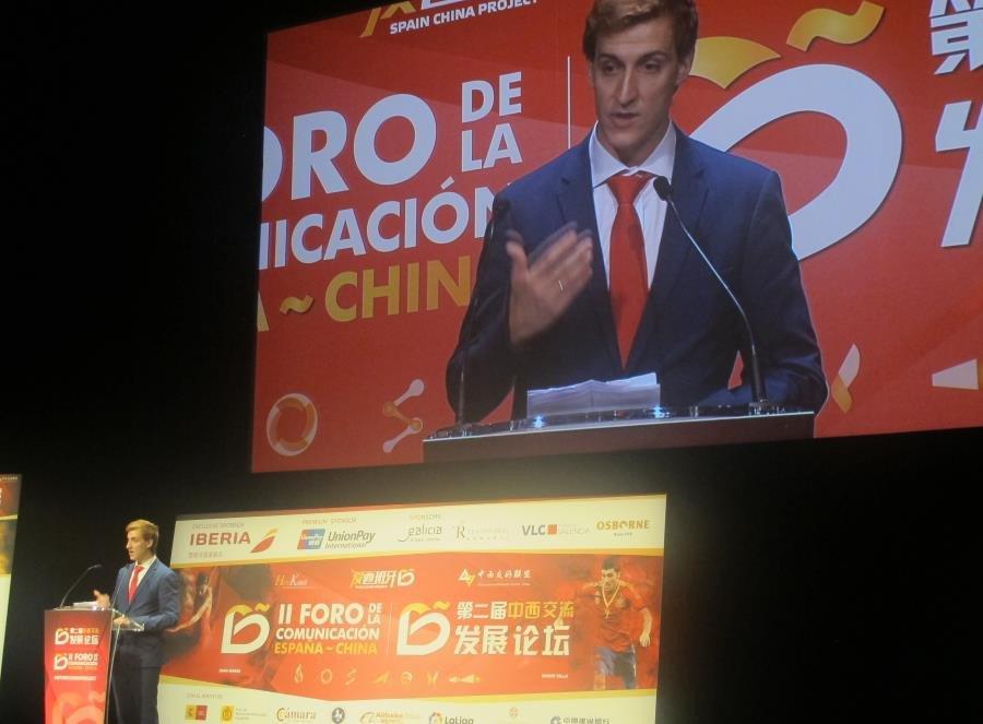 Carlos Sentís, director de Henkuai, empresa organizadora del evento, presentó la nueva estrategia: Spain China Project.