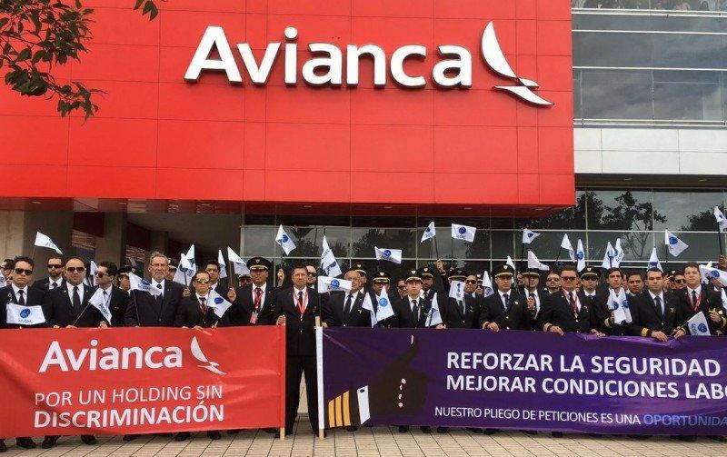 Pilotos de Avianca rechazan tribunal de arbitraje para resolver su huelga