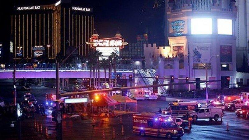 El caos se apoderó de Las Vegas en la noche del domingo, en la matanza más grave de la historia de EEUU.