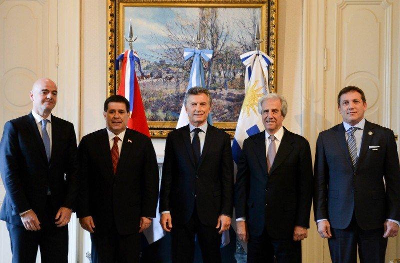 Mundial 2030: Argentina, Uruguay y Paraguay oficializaron su candidatura.