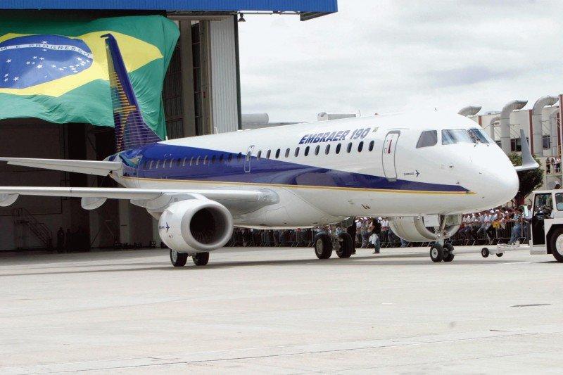 Embraer entrega 25 aviones comerciales en el tercer trimestre
