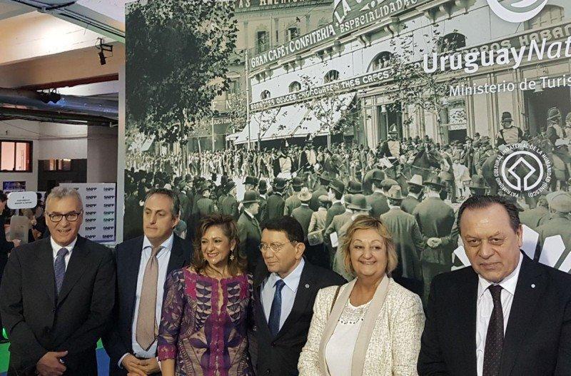 La Cumparsita, en su 100 Aniversario, es el motivo del stand de Uruguay en la feria paraguaya.
