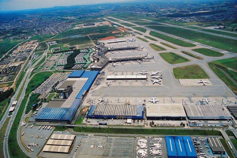 Aerolíneas anuncian nuevas infraestructuras en Aeropuerto de Guarulhos. Foto: Panoramio.
