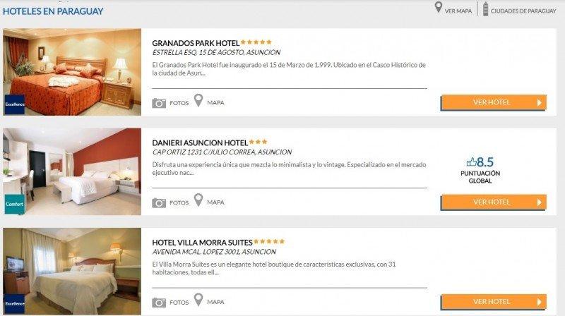 Hotusa Hotels entra en Paraguay con tres hoteles