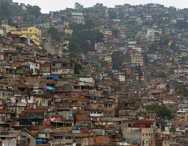 Rocinha, en el sur de Rio, es la favelas más visitada por estar cerca de la costa y de los circuitos turísticos.