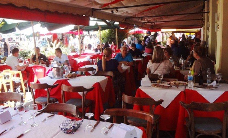 El sector gastronómico es uno de los más beneficiados por las exoneraciones a turistas.