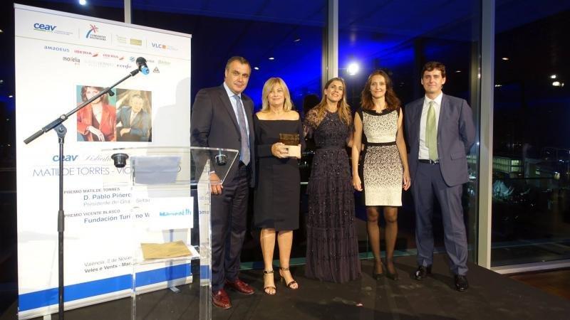 CEAV entrega los reconocimientos de Pablo Piñero y Turismo de Valencia
