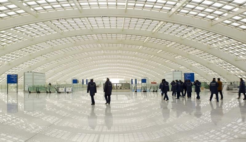 Aeropuerto de Beijing (Foto: CNN).