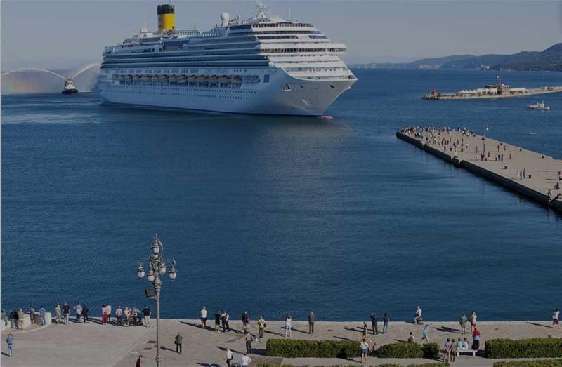 Las autoridades señalan la ausencia de colapsos en las fechas punta. Foto: Costa Cruceros.