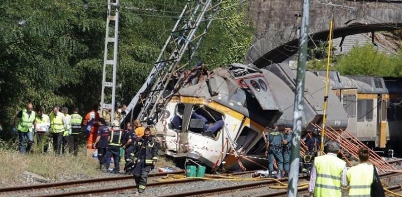 Accidente en Porriño, Galicia, ocurrido en 2016, en el que murieron cuatro personas y 49 resultaron heridas.