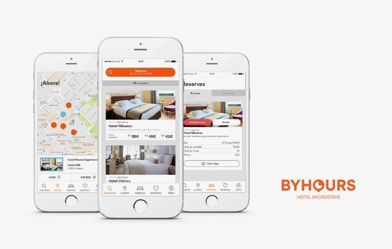 Imagen de la nueva app, con nuevas funcionalidades.