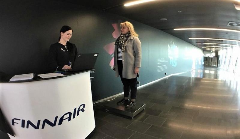 Una aerolínea tradicional comienza a pesar a sus pasajeros (Foto: Imagen de Twitter @Finnair).