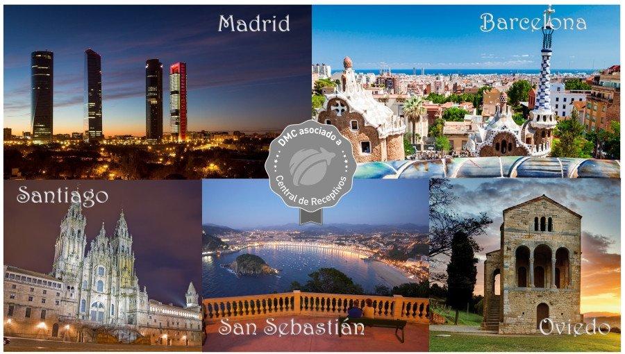 El encuentro con las agencias de viajes de este año recorrerá Madrid, Santiago de Compostela, Oviedo, San Sebastián y Barcelona.