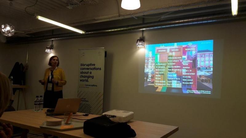 Mónica Muñoz, socia fundadora de la consultora The Innova Room, en su intervención en HDC.
