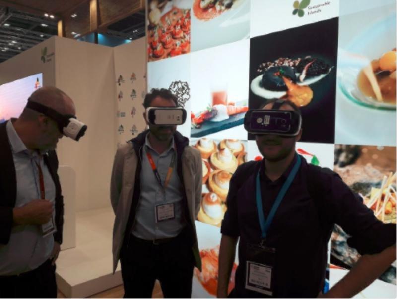 Las aplicaciones de realidad virtual y realidad aumentada han estado también muy presentes en la última edición de la WTM.