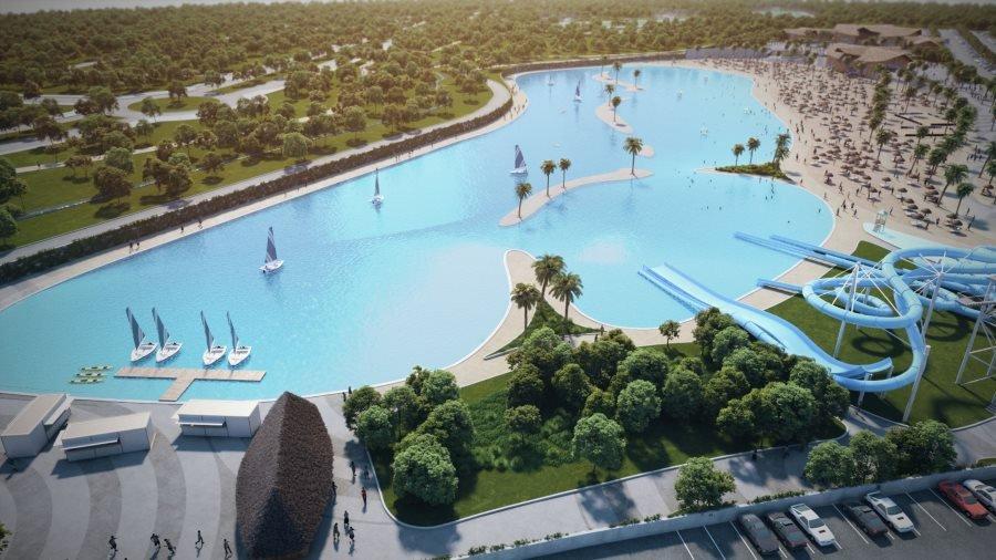 Crystal Lagoons, compañía chilena especializada en el diseño de lagunas artificiales, será la encargada del desarrollo de la playa.