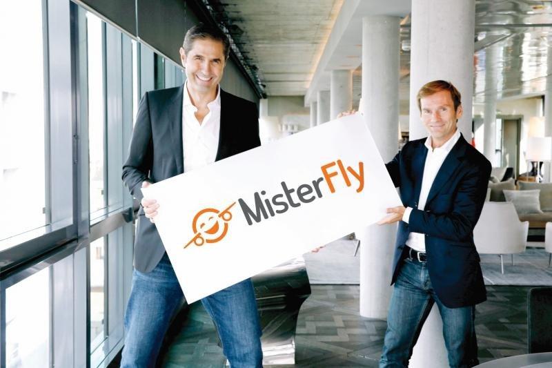 Los fundadores de MisterFly.