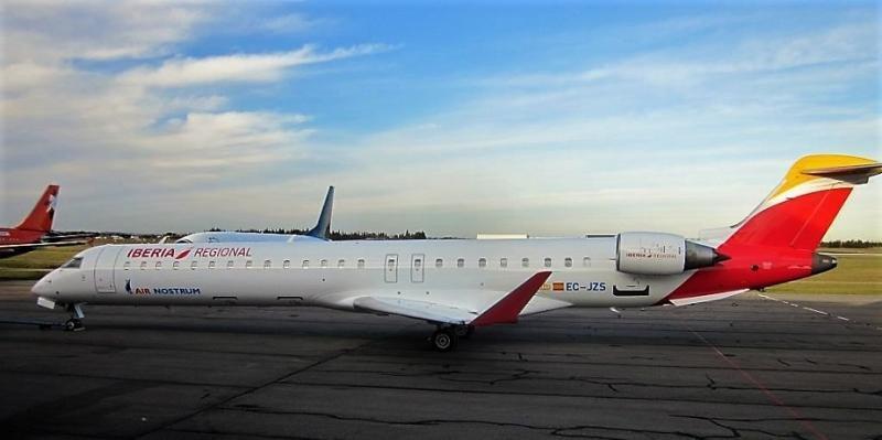 Air Nostrum aumenta su cifra de negocio un 6% en 2017