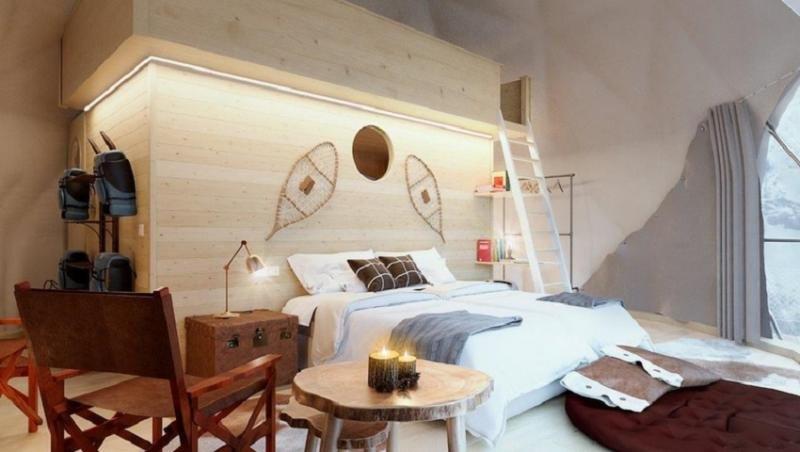 Dormir en un iglú hotel a 1.800 metros de altura