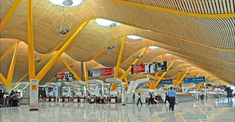 El Aeropuerto de Madrid-Barajas, primero de España, es el 5º de la UE.